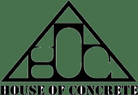 house of concrete logo
